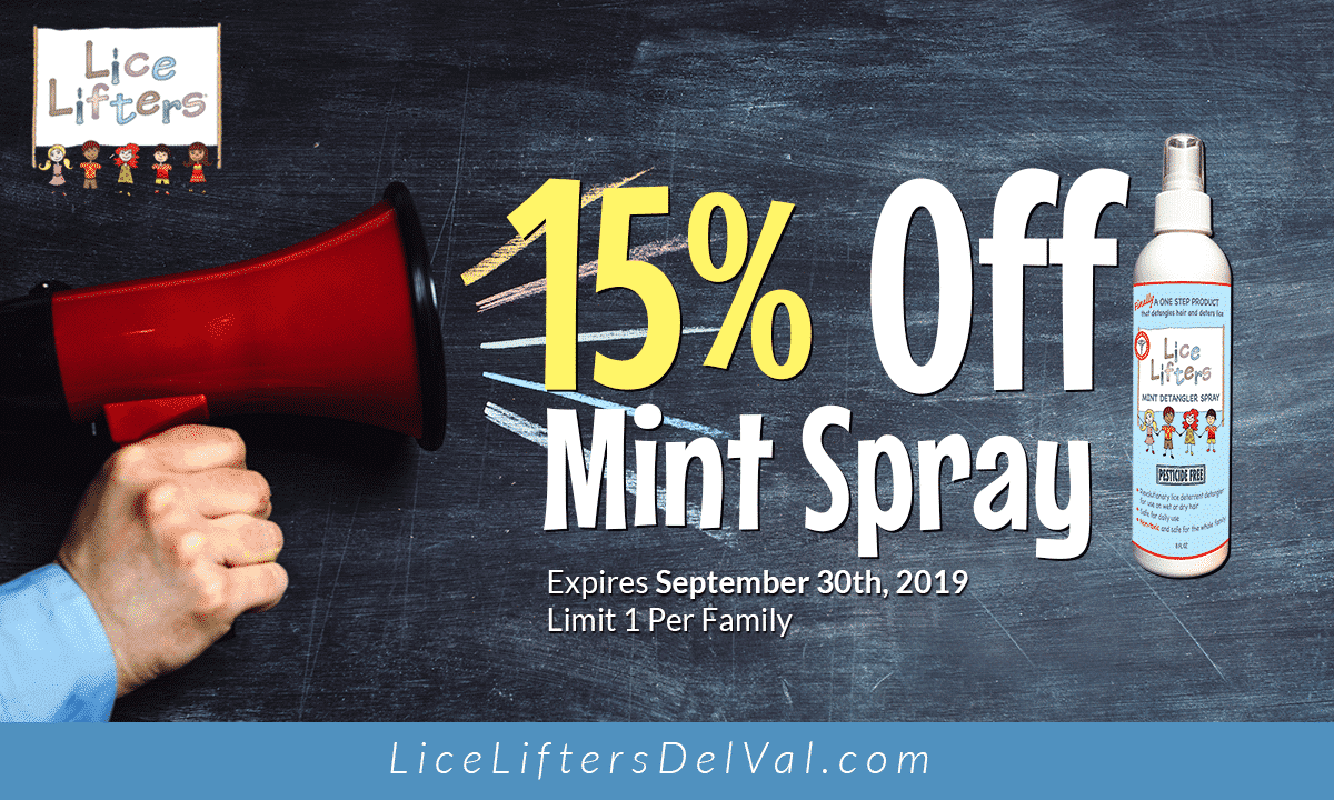 Lice Lifters Of Chadds Ford September 2019 Promotion